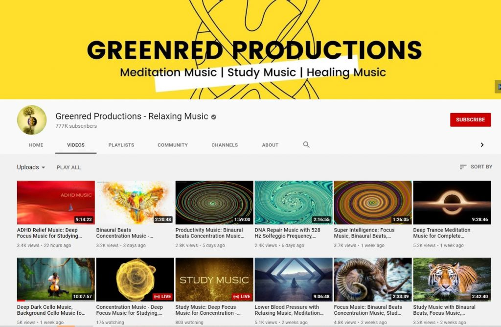 greenred youtube channel art