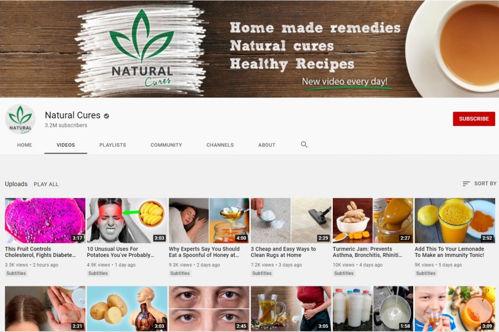 natural cures channel